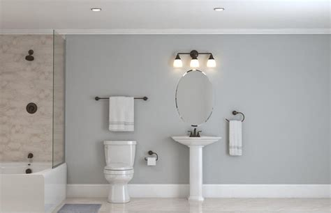 Kohler Devonshire Bathroom Lighting Create Customize Your Lighting Devonshire Collection In Rubbed Bronze The Home Depot