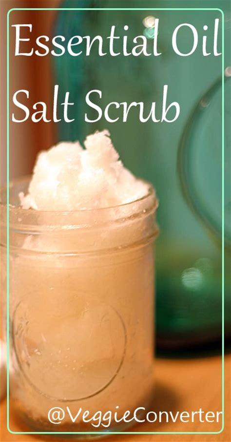 essential oils on salt l soothing coconut oil epsom salt scrub recipe doterra