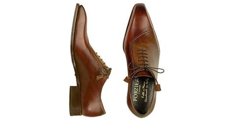 Handcrafted Italian Shoes - forzieri leather lace up oxford shoes in brown for lyst