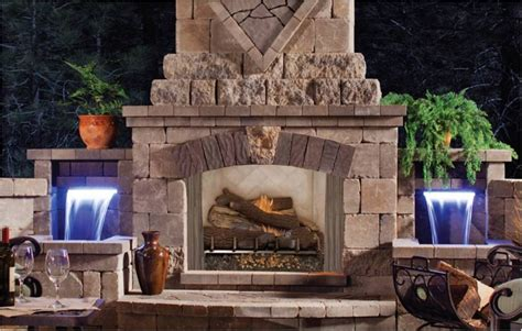 Fmi Fireplace Dealers by Fmi Products Outdoor Fireplace Venetian Emberwest