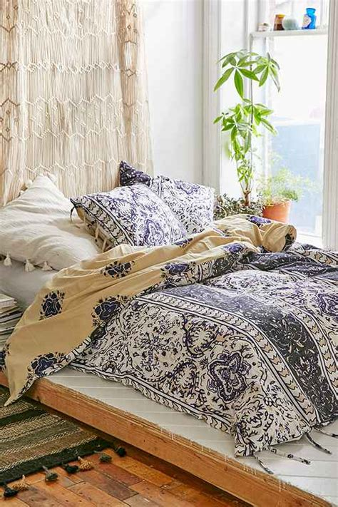urban outfitters bed comforters magical thinking boho stripe duvet cover urban outfitters