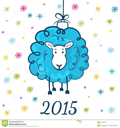 Sketching Sheep Symbol Of The New Year 2015