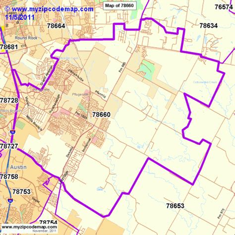 pflugerville texas map zip code map of 78660 demographic profile residential housing information etc