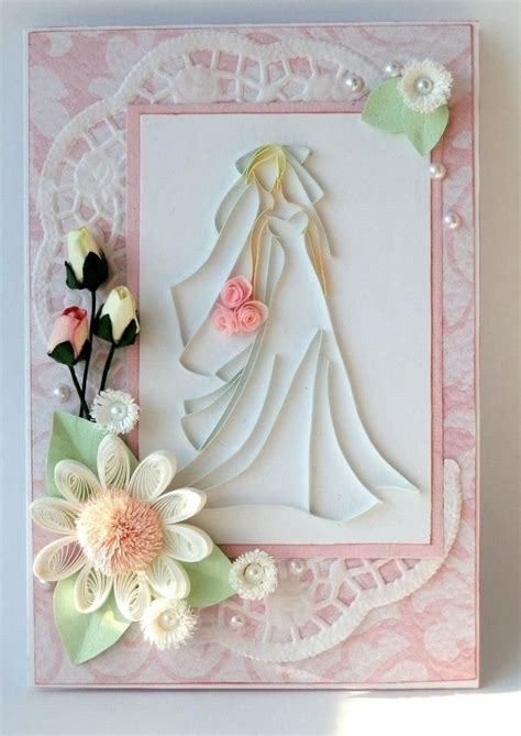 Wedding Invitation Card Paper by Quilling Handmade Wedding Invitation And Greeting Card