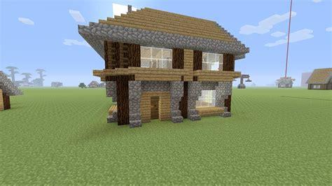 minecraft een huis minecraft een houten beginners huis maken youtube