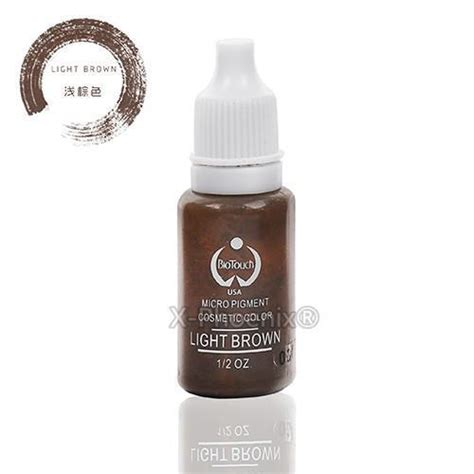 tattoo ink dry pigment 6 piece colorful permanent makeup tattoo ink pigment 15ml
