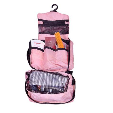 Project Travel Mate Tas Penyimpanan Peralatan Mandi Dan Kosmetik jual travel mate tas penyimpanan toilet organizer bag pink salem harga kualitas