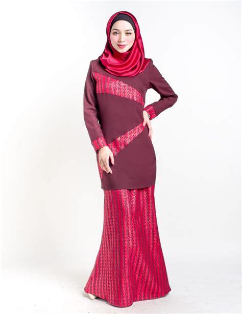Foto Baju Kurung Moden Terkini 17 fesyen baju kurung moden terkini design casual stylish