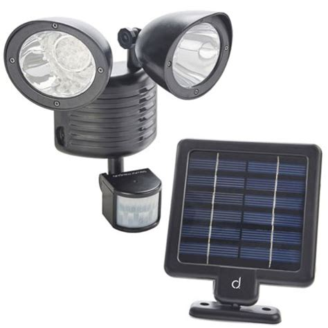Buy Andrew James Double Solar Powered Security Light From Tesco Solar Lights
