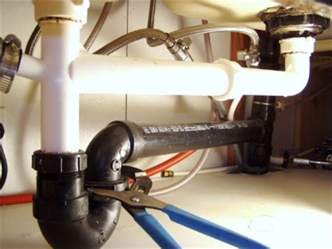 how to remove & fix a kitchen sink drain mobile home repair