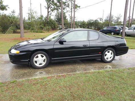 sell new 2000 chevy mont carlo ss orig 70 000 mi blk v6 leath pwr heated seats cold air in sell used 2000 monte carlo ss in orlando florida united states for us 3 900 00