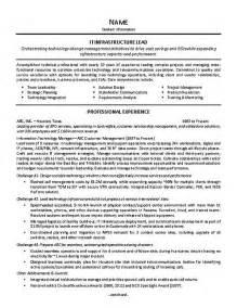 it supervisor resume exle