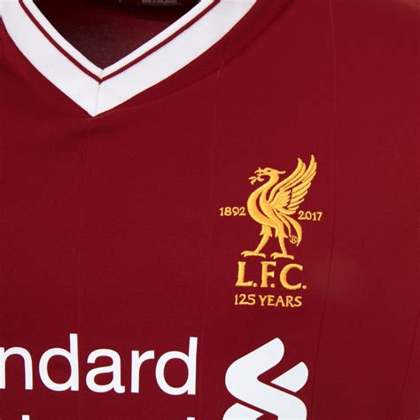 lfc mens replica home shirt 1718 liverpool fc official