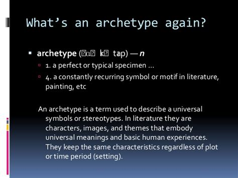 recurring theme definition literature literary archetypes and the hero s journey
