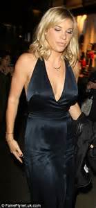 Prince Harrys Chelsy Wears 45 Warehouse Dress by Prince Harry S Ex Chelsy Davy In Satin Dress At Burberry