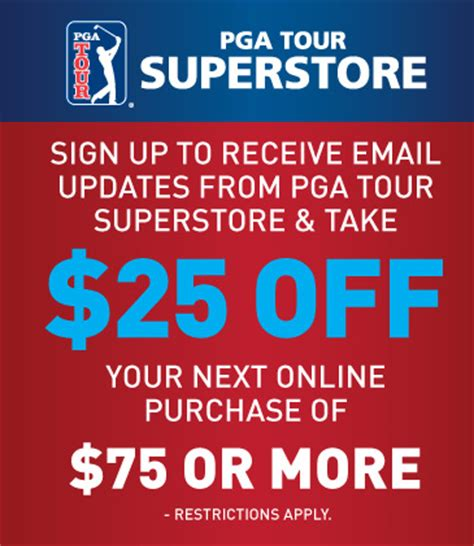 Pga Superstore Gift Card - pga tour email list sign up for pga tour superstore