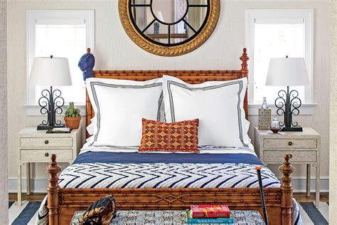navy blue coastal bedroom design with glossy navy blue preppy and classic beautiful blue bedrooms southern living