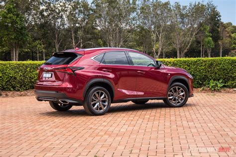 lexus is f sport 2018 2018 lexus nx 300 f sport review performancedrive