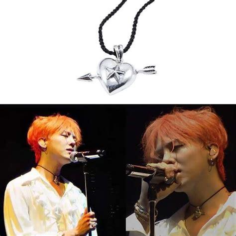 Kpop G Peaceminusone Necklace Pmo aliexpress buy hp kpop bigbang g cupid s arrow necklace rope chain vintage gd