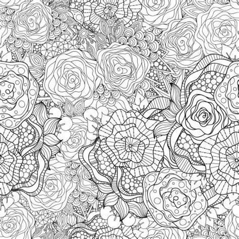 flower coloring pages advanced 30 best advanced flower coloring pages images on pinterest
