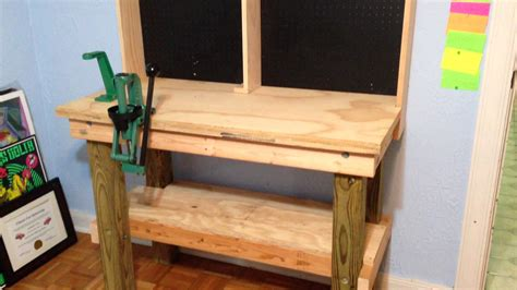 how to make a reloading bench reloading bench build is complete youtube