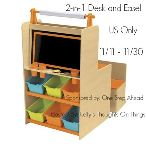 step 2 easel desk 2 in 1 desk and easel by one step ahead giveaway 11 30