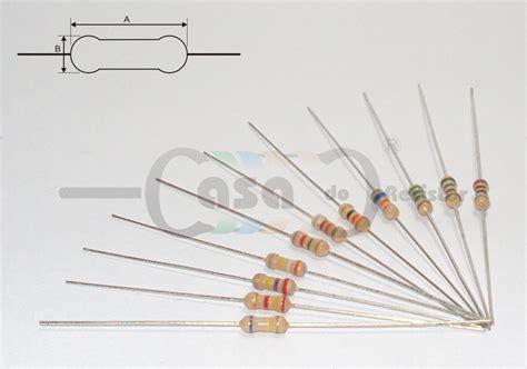 resistor de 4k7 resistor filme carbono 1 4w 5 4k7 zcrc0105 casa do resistor componentes eletr 244 nicos