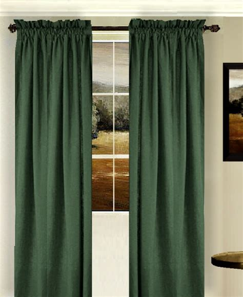 dark green curtains drapes solid hunter green colored shower curtain