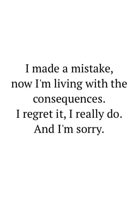 Regret Quotes Letter Quotes About Regrets And Mistakes Quotesgram
