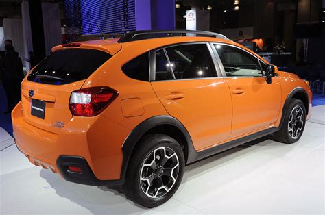 subaru orange crosstrek 2013 subaru crosstrek finally arrives stateside autoblog