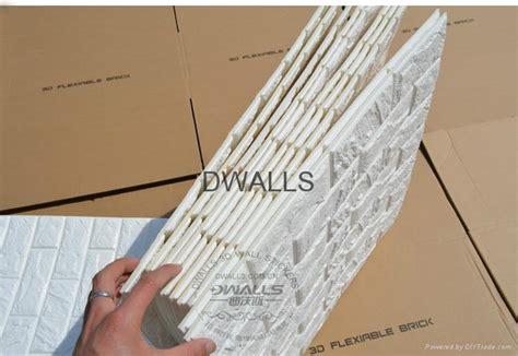 3d Wall Panel Room Deco Removable 3d Brick Wall Stickers X6 Dwalls