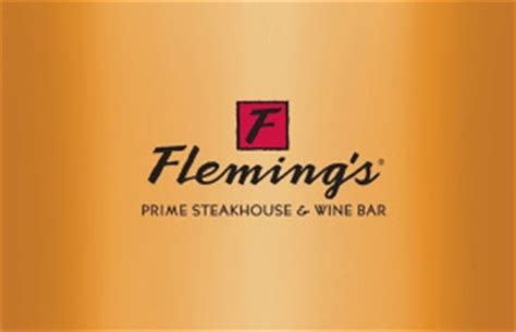 Flemings Gift Card - fleming s steakhouse 50 gift card rewards store swagbucks