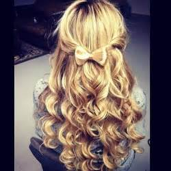 Bow curls hair pictures photos and images for facebook tumblr