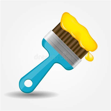 eps format paint net paint brush icon vector illustration royalty free stock