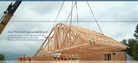 Log Home Floor Plan by Brough And Whicher Engineered Wood Roof Trusses