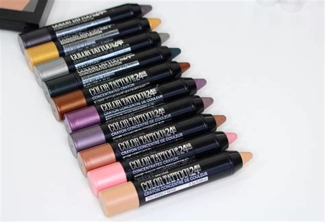maybelline color tattoo review maybelline color concentrated crayon review