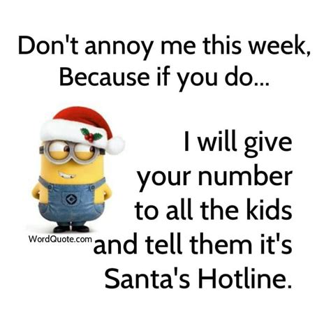 funny minion christmas pictures word quote famous quotes