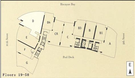 900 Biscayne Floor Plans 900 biscayne miami condo downtown apartments for sale rent