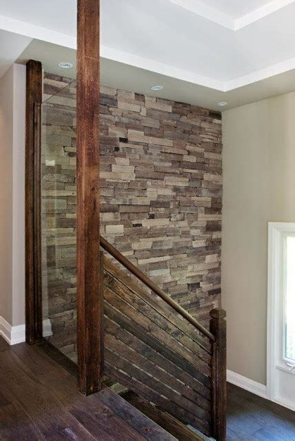 Accent Wall Staircase by Interior Stone Accent Walls Staircase Other By Stone