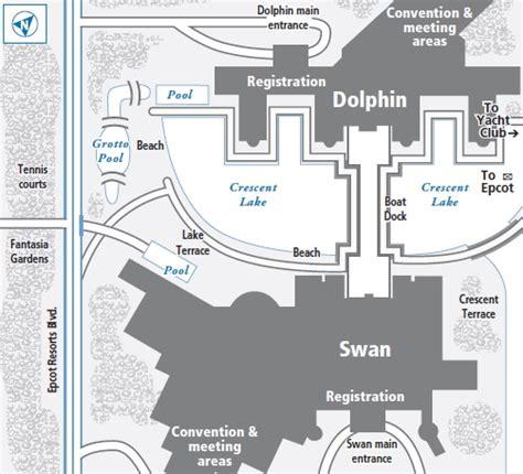 Disney World Resort Hotel Floor Plans - swan at walt disney world