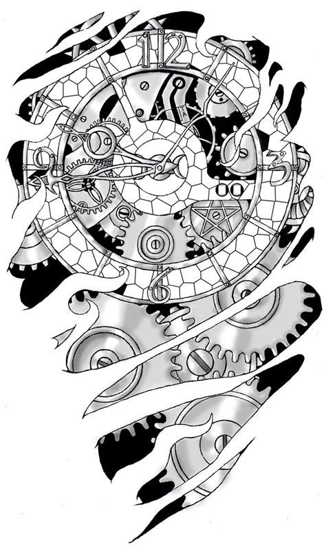 clockwork tattoo designs 1000 images about tattoos on