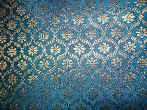 gold indian pattern blue gold indian fabric google search b2016