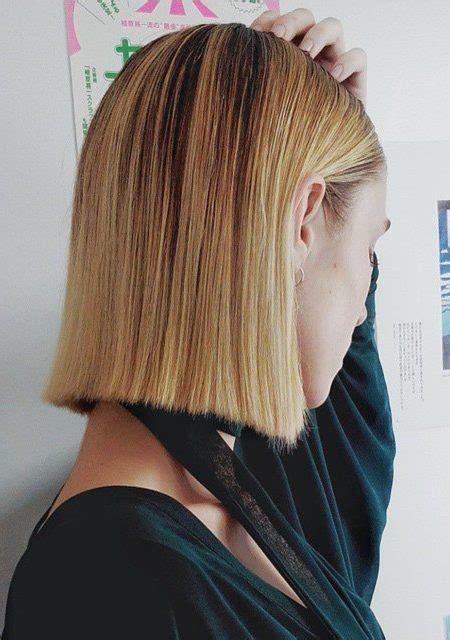blunt cut styles fine hair modern blunt bob haircuts for 2017 haircuts hairstyles