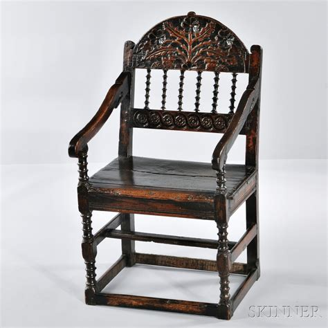 Wainscot Chairs For Sale by Carved Oak Wainscot Chair Sale Number 2835b Lot Number