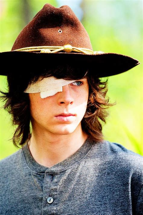 The Walking Dead Carl Grimes Poncho chandler riggs carl grimes posts and babies
