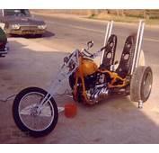 MC Art/Motorcycle Art Sacraknucklehead Trike