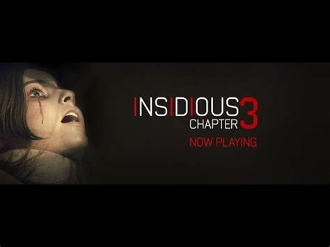 movie insidious part 1 insidious chapter 3 podcast movie review part 1 youtube