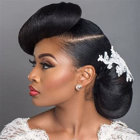 Wedding Hairstyles For Black Hair by 17 Best Images About Wedding Hair On Bridal
