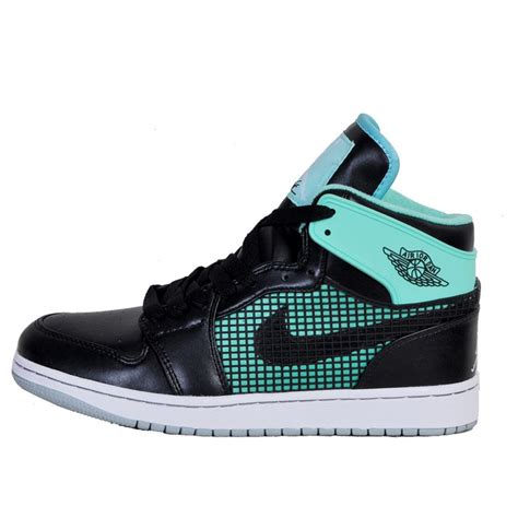 sneakers for sale jordans air 1 air sole high black green air shoes