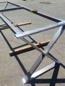 Metal Dining Table Legs And Bases Cross Leg Metal Table Base Metal Tables Bases Metals Legs And Tables